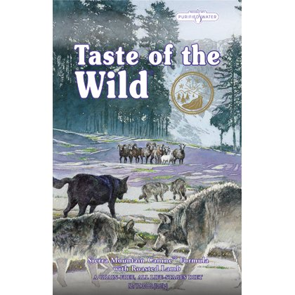Taste of the Wild DIAMOND PET FOODS 418587 Tow Sierra Mountain Canine with Roasted Lamb Food for Pets 30-Pound
