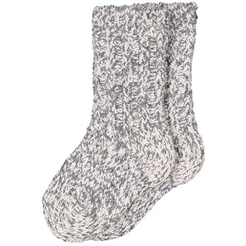 Baby Wool Socks - POLARN O. PYRET RAGG WOOL SOCK (BABY) - 1-2 years/Greymelange