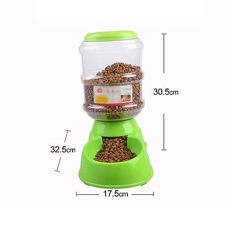 LIZHONGXUAN Alimentador Automático para Gatos Y Perros, Grande, Mediano Y Pequeño, para Perros