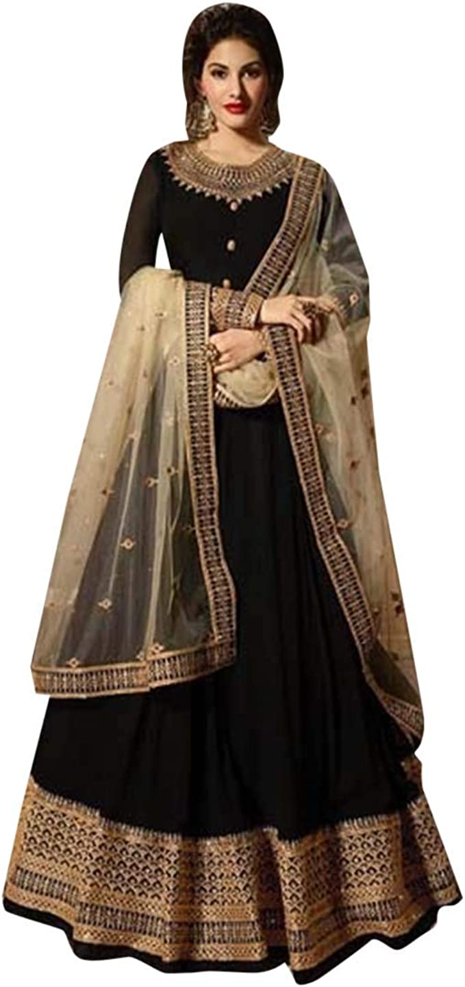 Amazon.com: Festive Diwali oferta Anarkali Salwar Kameez ...