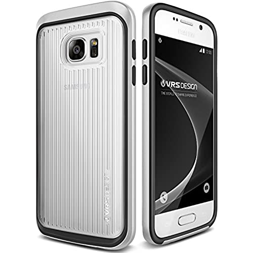 Galaxy S7 Case, VRS Design [Triple Mixx][Satin Silver] - [Clear Back][Drop Protection][Slim Fit] For Samsung S7 Sales