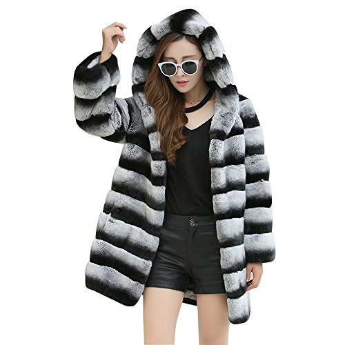 Chinchilla Fur Coat - 8