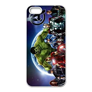 Happy The Avengers Cell Phone Case for Iphone 5s