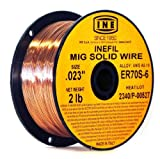 INEFIL ER70S-6 .023-Inch on 2-Pound Spool Carbon Steel Mig Solid Welding Wire by INE USA Since 1950