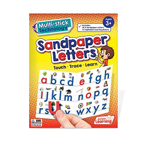 Junior Learning MultiStick Sandpaper Letters Educational Action games