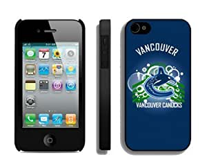 Special New Case for Iphone 4s NHL Vancouver Canucks 1 Best Iphone 4 Cover Mobile Phone Accessories