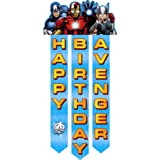 Avengers 'Assemble' Happy Birthday Banner (1ct)