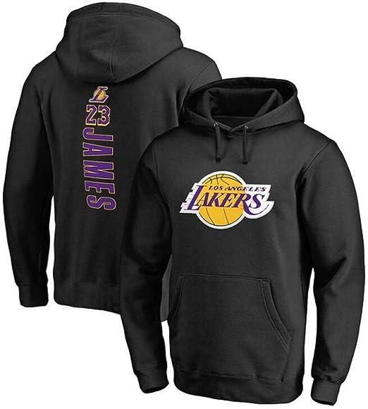 CCKWX Baloncesto con Capucha Lakers # 23 Fans Lebron James Los ...