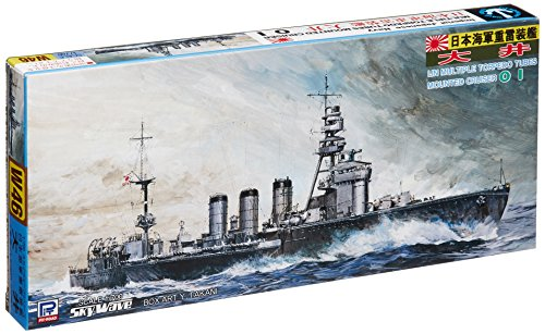Skywave 1/700 IJN Multiple Torpedo Tubes Mounted Cruiser OHI Model Kit (Torpedo Selection)
