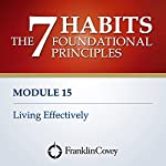 Living Effectively    FranklinCovey