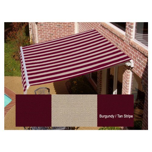 AWNTECH 24 ft. Maui Manual Retractable Awning (120 in ...