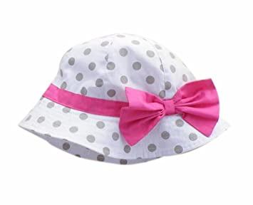 d45ffc885e2 Amazon.com  Summer Baby Girl Caps Cotton Sun Hat For 2-3 Years Baby ...