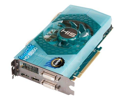HIS Radeon HD 6850 IceQ X Turbo 1 GB (256bit) GDDR5 Eyefinity DisplayPort HDMI 2x DVI (HDCP) PCI Express X16 2.1 Video Card Retail (RoHS) -