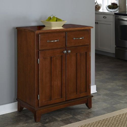 Home Styles 5001-0072 5001 Series with Medium Cherry Wood Top Buffet, Medium Cherry, 29-1/4-Inch by Home Styles (Image #1)