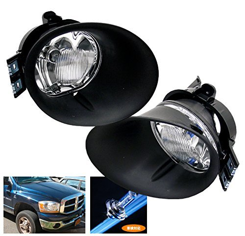 ZMAUTOPARTS Dodge Ram 1500/ 2500 3500 Pickup Bumper Driving Chrome Fog Light Lamp