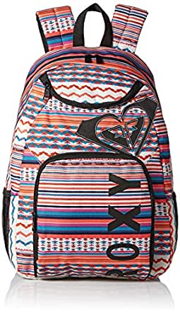 Roxy Men's Shadow View Stripe Poly Backpack, Disco Stripe