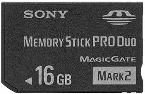 Sony 16GB Memory Stick PRO Duo Card