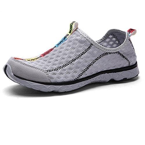 Oriskey Aquaschuhe / Bootsportschuhe / Strandschuhe / Badeschuhe / Surfschuhe / Wassersportschuhe / Wasserschuhe / Schwimmschuhe für Herren 43
