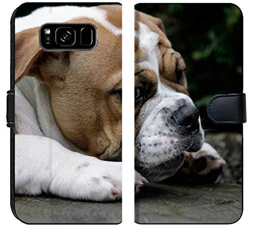 - Samsung Galaxy S8 Plus Flip Fabric Wallet Case Image ID: 7835879 Continental Bulldog Puppy
