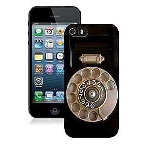 BINGO good review Retro Telephone iPhone 5 5S Case Black Cover