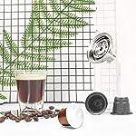 SZYZ-Adattatore-per-Capsule-riutilizzabili-da-caffe-Nespresso-Vertuoline-per-Filtro-Nespresso-Argento