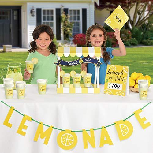 (Amscan International Amscan 410099 Decoration Table Dec Kit Lemonade Stand 1 Pack)