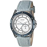 GUESS Women's Stainless Steel Connect...