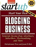 img - for Start Your Own Blogging Business (StartUp Series) by Entrepreneur Press (2010) Paperback book / textbook / text book