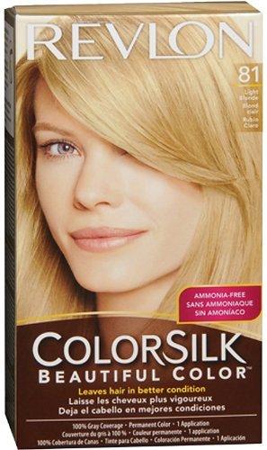 - Revlon Colorsilk Ammonia Free Permanent Haircolor Level 3 8N Light Blonde 81 by Revlon