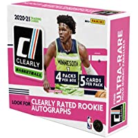 $209 » 2020/21 Panini Clearly Donruss NBA Basketball HOBBY box (4 pks/bx, 20 total cards/bx)