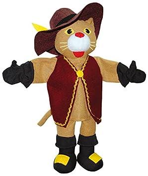 Esemebe - Gato con botas, marioneta (007013): Amazon.es: Juguetes ...