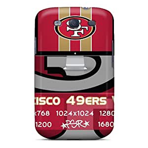 RichardBingley Samsung Galaxy S3 Durable Hard Phone Cover Custom Attractive San Francisco 49ers Image [VoP1042OrFd]