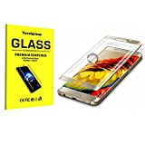 Screen Protector,Full Covered HD Clear Covered Edge Tempered Glass Screen Protector Film for Samsung Galaxy S6 Edge/S6 Edge Plus/ S7 Edge/Note Edge