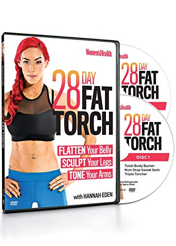 - Women's Health 28 Day Fat Torch with Hannah Eden: Flatten Your Belly, Sculpt Your Legs, Tone Your Arms (DVD)