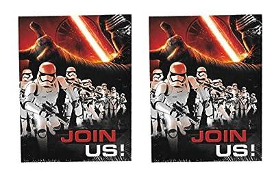 Disney's Star Wars 'The Force Awakens' 16ct. Invitations