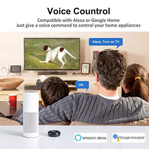 Wifi Smart IR Hub | IR Control Hub | Universal Remote Controller for Smart  Home, Hand-free Compatible with Alexa & Google Home, One for All Infrared