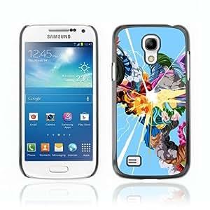 Designer Depo Hard Protection Case for Samsung Galaxy S4 Mini / Color Explosion