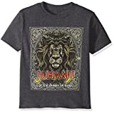 Jumanji Little Boys' Welcome To The Jungle T-Shirt, Charcoal Heather, 7