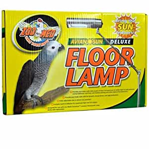 Amazon Com Zoo Med Aviansun Deluxe Floor Lamp Bulb Not