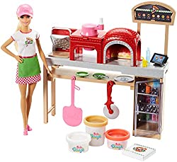 Barbie Pizza Chef Doll & Playset, Blonde