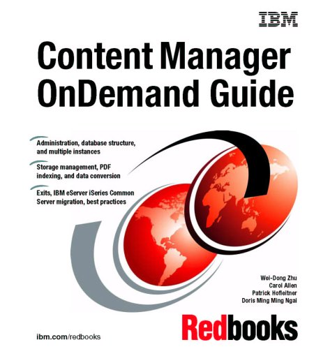 Content Manager Ondemand Guide Ibm Redbooks 9780738497198 Amazon