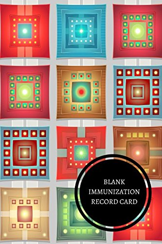 Read Online Blank Immunization Record Card: Health Log Book pdf epub