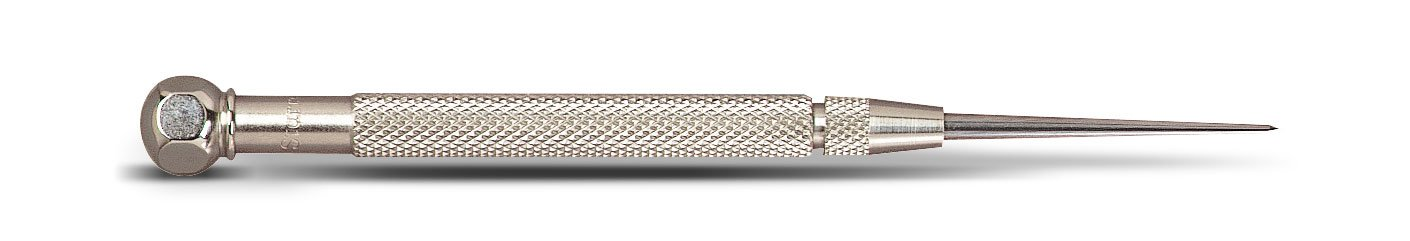 Starrett 70AX Pocket Scriber with 2-3/8-Inch Tungsten Carbide Point
