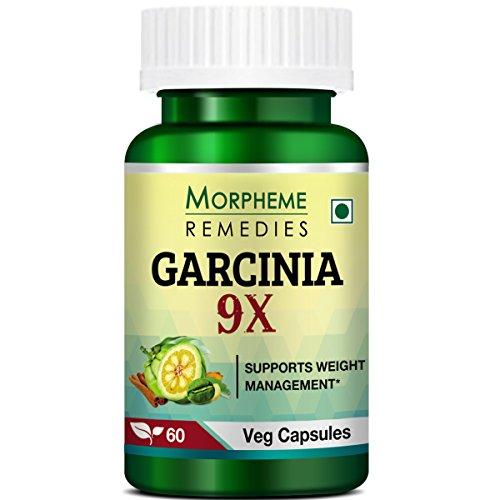 Morpheme Remedies Garcinia 9X  Garcinia Cambogia, Green Coffee, Green Tea, Forskolin, Grape Seed    60 Veg Capsules