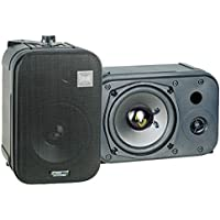 Pyle Home PDMN48 5 1/4-Inch 2-Way Bass Reflex Mini-Monitor System (Pair)