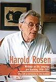 Harold Rosen: Writings on Life, Language and Learning, 1958–2008