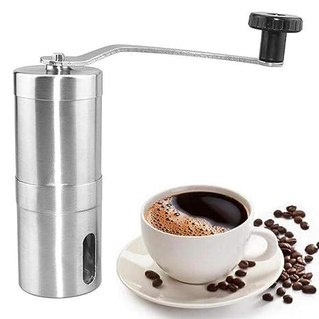 Máquina para moler café manual Cerámica de acero a mano Máquina para moler café molino de