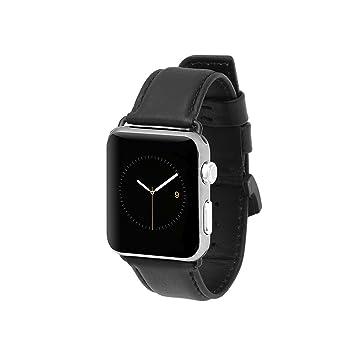 Case-Mate CM034431 Accesorio de Relojes Inteligentes Grupo de Rock Negro Cuero - Accesorios de