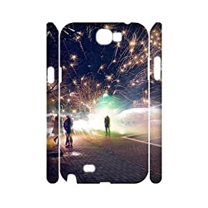 Hu Xiao Custom 3D case cover for Samsung Galaxy Note iWHVgUMle6o 2 N7100 with Fireworks misfire at SHSHU