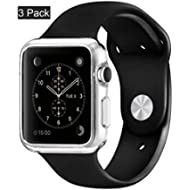 [3pack]Crystal clear iWatch 42mm Case , CaseHQ Ultra Slim 0.3MM Lightweight Polycarbonate Hard...